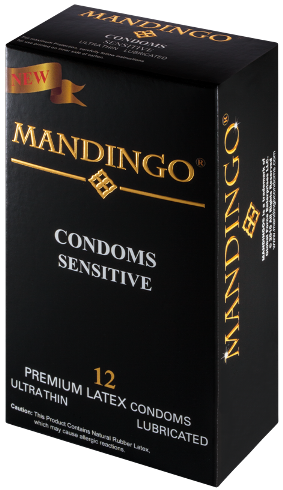 Mandingo Sensitive Condoms